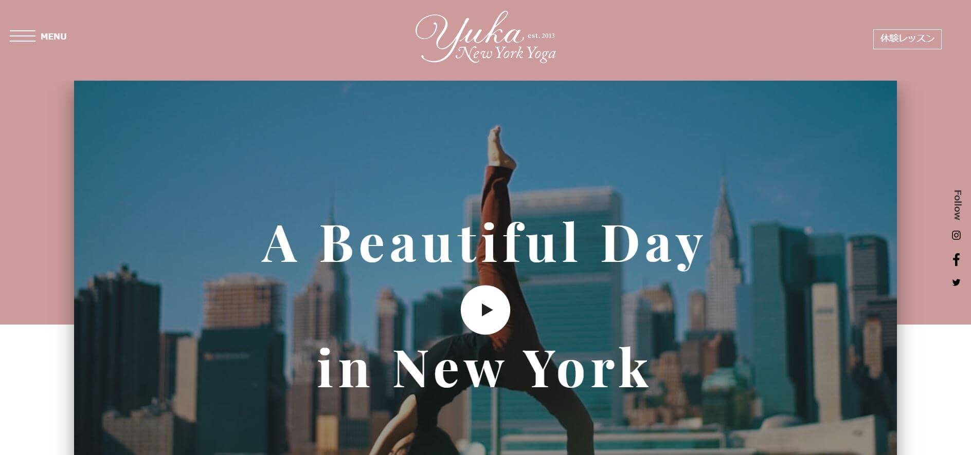 Yuka New York Yoga 恵比寿