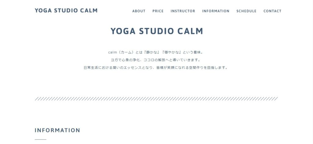 YOGA STUDIO CALM